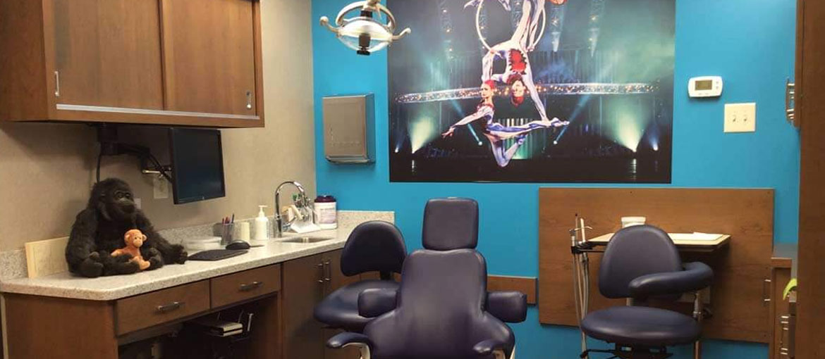 Kids Orthodontist Dental Room The Greatest Smiles on Earth Worthington OH